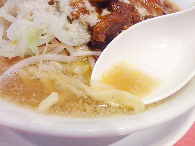 あっ晴れラーメンのスープ
