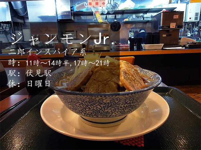 ジャンキーモンキーJr.名古屋市中区伏見にある二郎インスパイア系