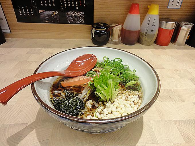 煮干し香菜麺