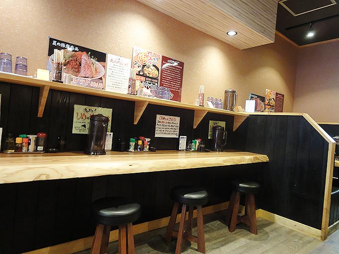 麺屋昇神店内