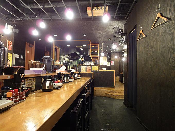 ラーメンつけ麺55番店内の様子