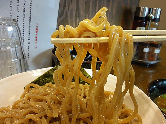つけ麺寅の麺