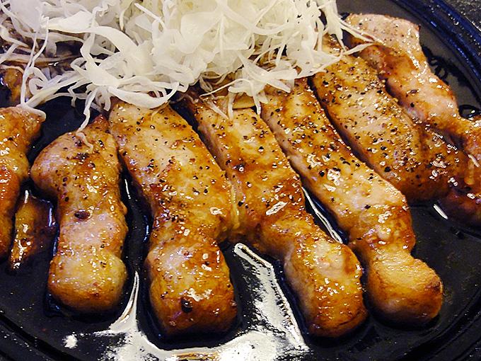 キッチンマツヤ名古屋伏見のトンテキは老舗名古屋めしの店として名古屋人に愛され続けた味