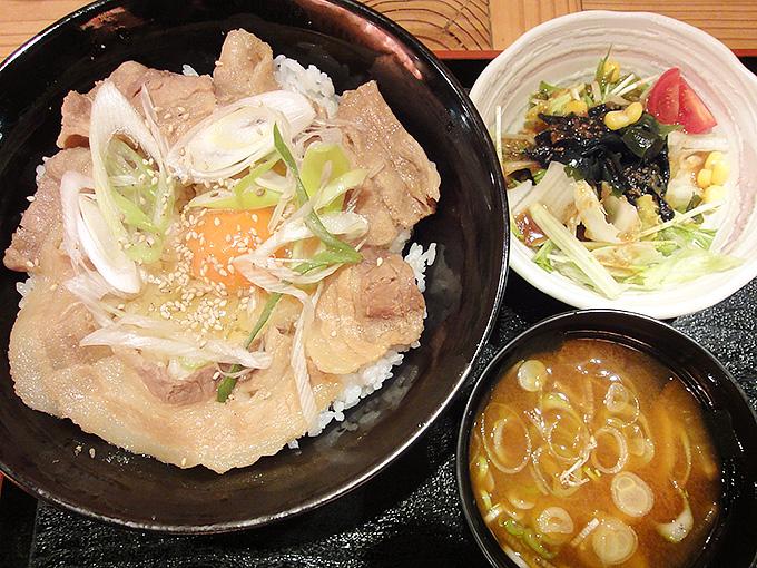 ガッツ豚丼ランチ