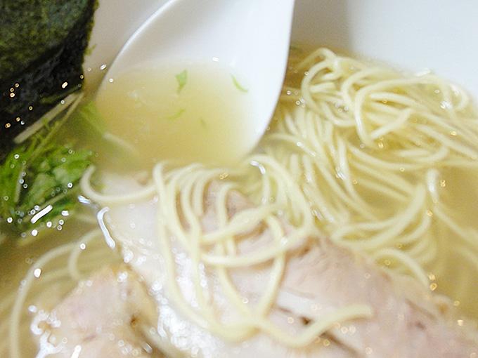 空王士の無化調スープ
