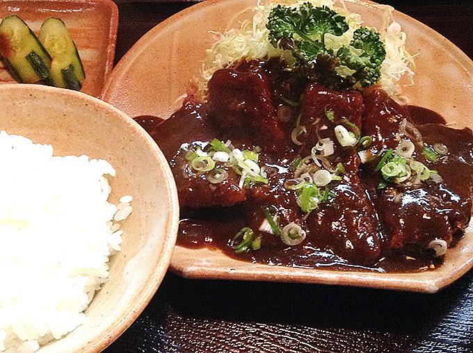 味噌とんかつ定食