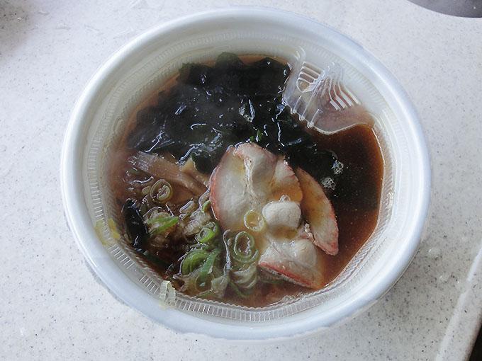 セブンとみ田カップ麺完成