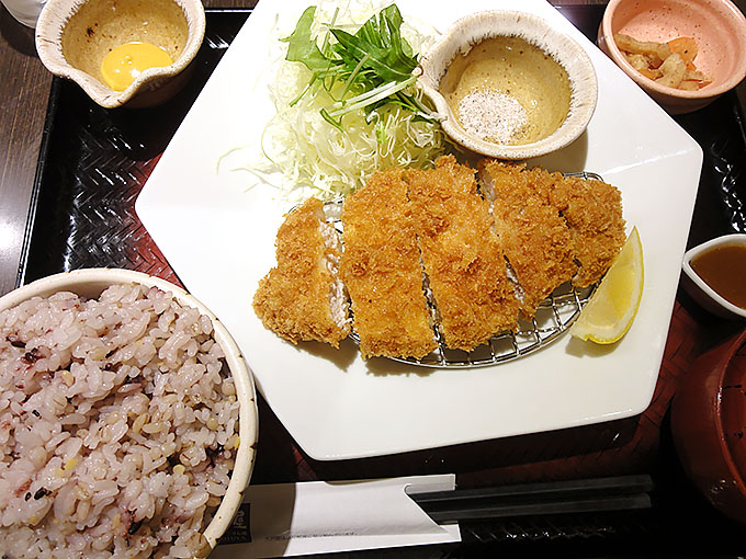 大戸屋名古屋栄店ごはん処のメニューを紹介しよう