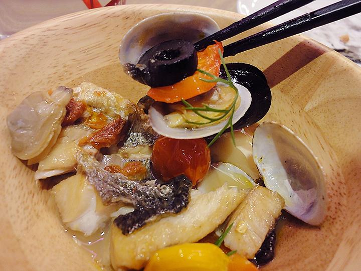 アクアパッツァ魚介類